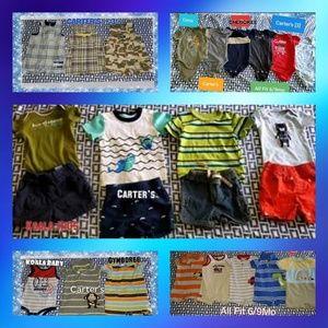 Carter's Matching Sets - ●Baby boy 25pcs bundle 6/9mo●